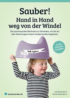 Buch Sauber Hand in Hand weg von der Windel - Sauberwerden.de