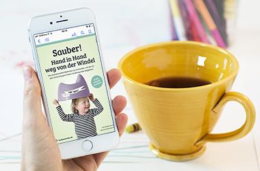FAQ Sauberwerden.de Handy Kaffee